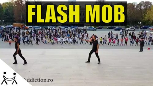 FalshMob Kiss the Sky – 7 zile 7 arte – Dance Addiction