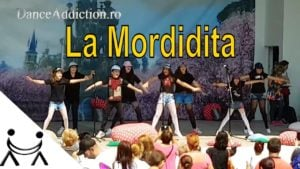 👫 Ricky Martin –  La Mordidita | Easy Dance Choreography for Kids
