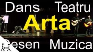 Colaj de Arta pentru Adrian Paunescu de Stefan Nitu – Nebun de Alb – teatru, muzica, dans si desen