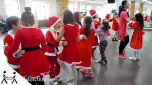 🎅 Dansuri de Craciun pentru Copii MERENGUE pasul de baza pozitia apropiata deplasari si intoarceri