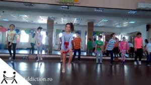 Dans Modern Pentru Copii Exercitiu de Freestyle si Creativitate