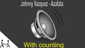 🎧 Johnny Vazquez – Azafata | Salsa Song for Beginners – With Counting 123 567