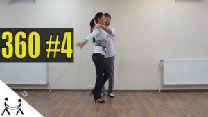 360 Figura Salsa Pentru Avansati | Dansuri Latino