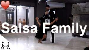 Familia Salsa ❤ Show de Dans Salsa cu Nounascut
