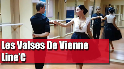 Coregrafia: Les Valses De Vienne – Line'C / pe muzică