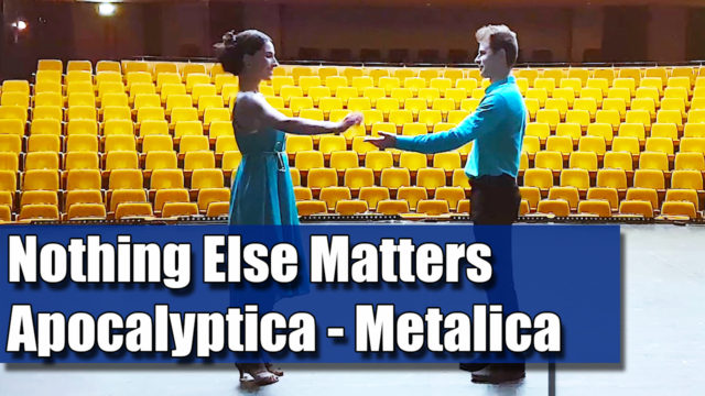 Coregrafia: Nothing Else Matters - Apocalyptica - Metalica