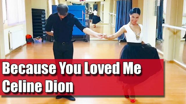 Because You Loved Me - Celine Dion / pe muzica