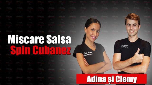 Miscare Salsa Spin Cubanez