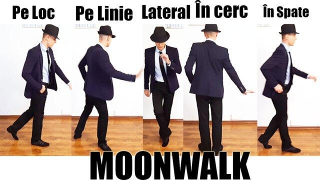 Cum să mergi cu spatele ca Michael Jackson [MOONWALK]