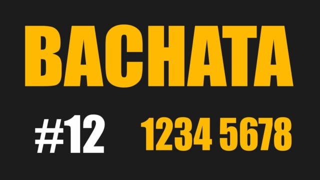 Bachata Count 1234 5678 Bachatango - Azul