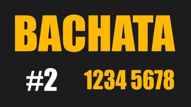Bachata 1234 5678 Count Mas amor daras - Mojito Project